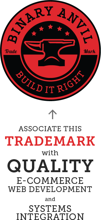 Associate this trademark with quality e-commerce web development and Systems integration